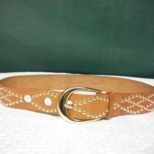 Michael Kors studded leather woman's belt